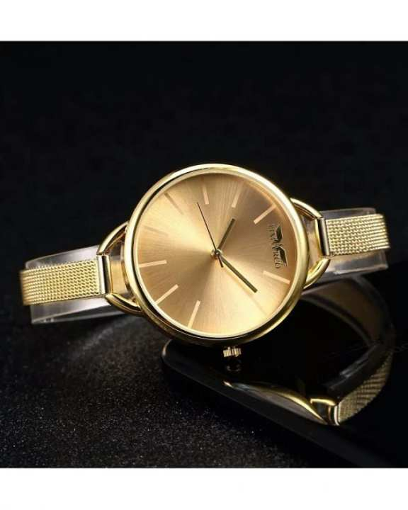 Luxury Golden Watch For Women/Girls