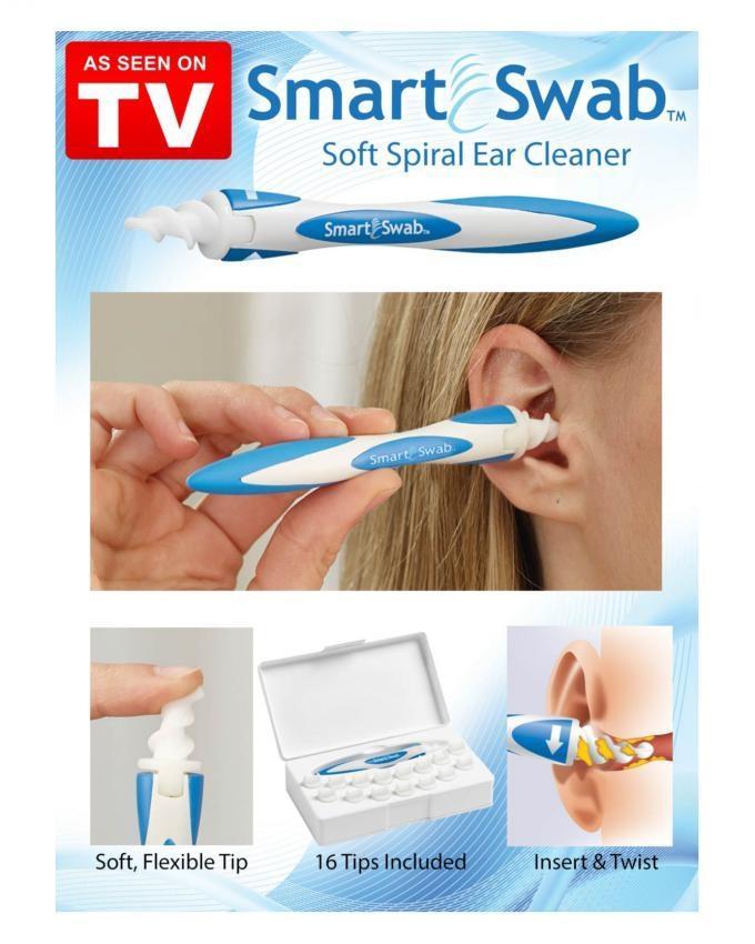 Smart Swab - White & Blue