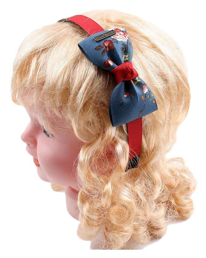 Bow Hairband - Red