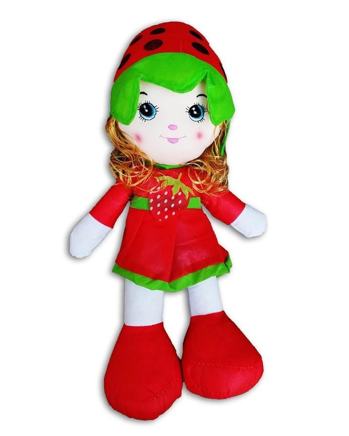 Strawberry Doll For Kids - Red