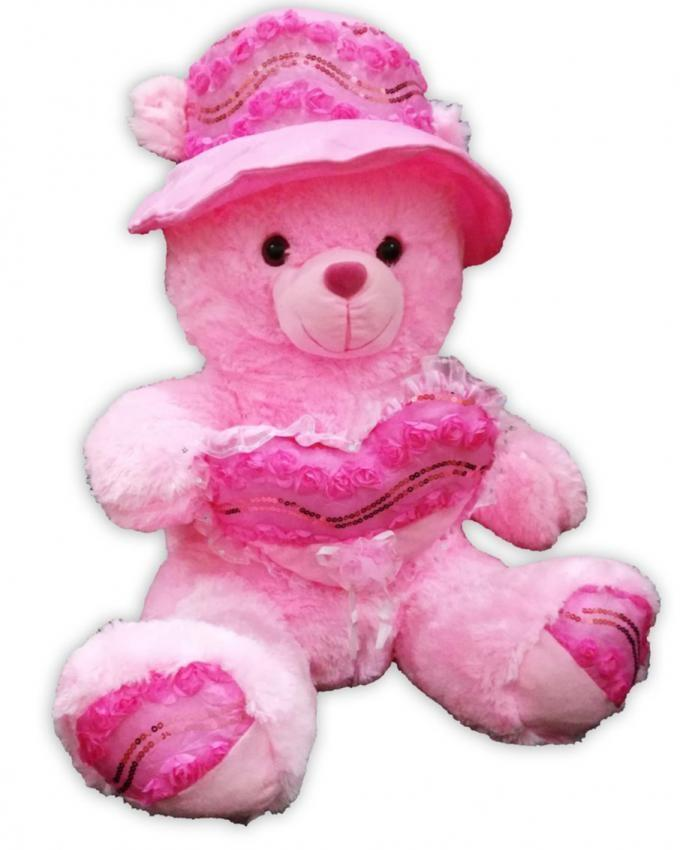 Giant Adorable Teddy Bear - Pink
