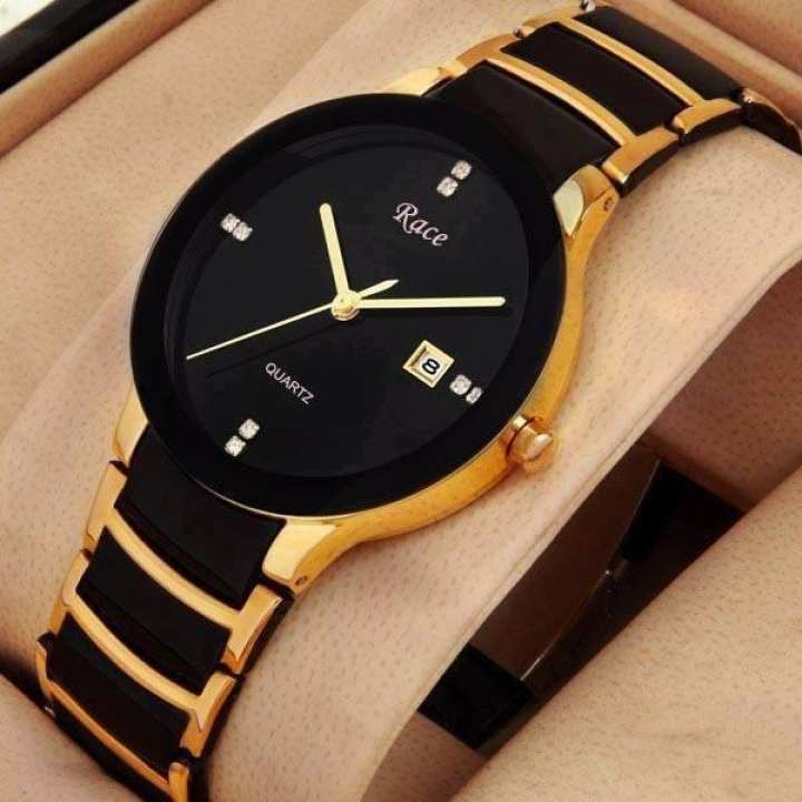 Race Metal Strap Watch for Men