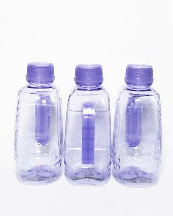Pack Of 3 - Fridge Water Bottles - Purple