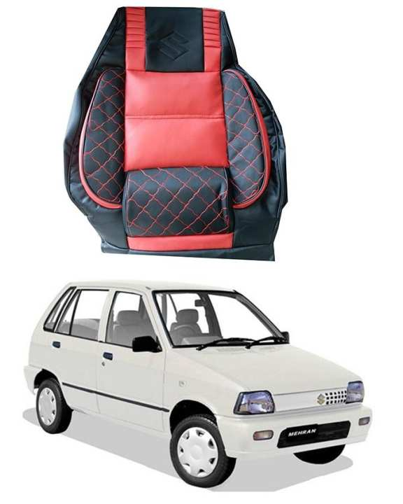 Suzuki - Mehran - Seat - Covers - Red & Black