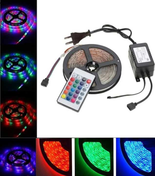 Rgb Waterproof Remote Control Color Changing Led Strip Light Complete Kit