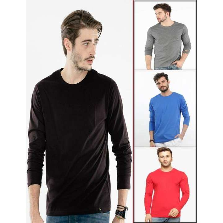 Pack of 4 - Long Sleeve T-Shirts For Men. P4NFS
