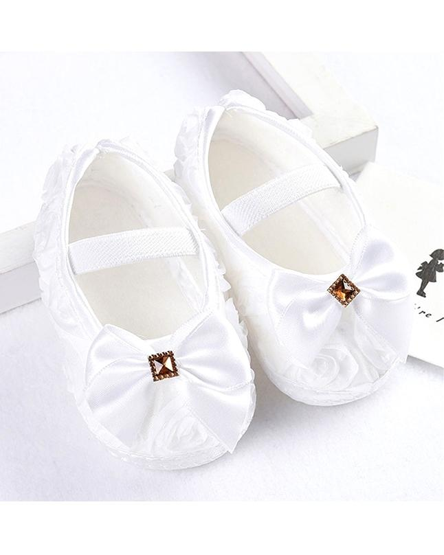 Pair Of Shoes For Cute Baby Girls White Buy Online At Best Prices