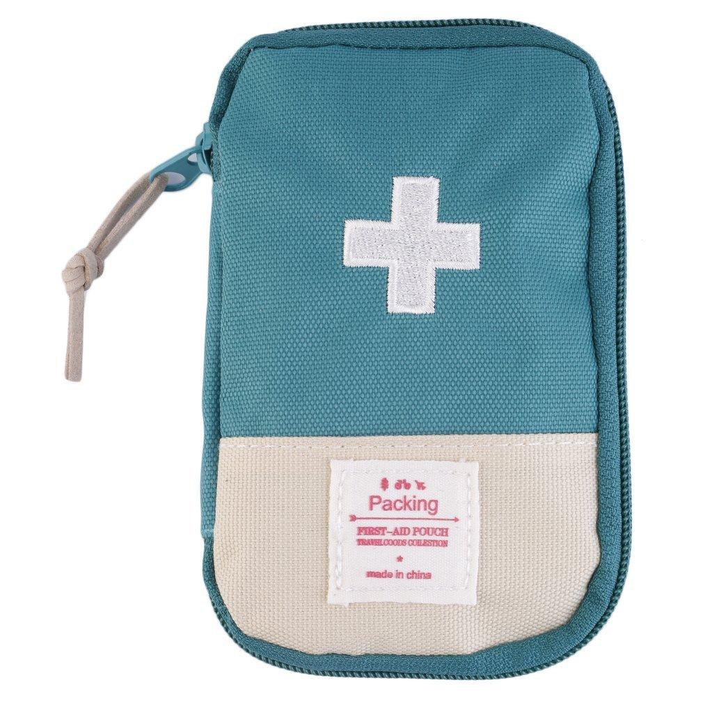 4396d69be129 New Outdoor Camping Home Survival Portable First Aid Kit bag Case Green  Buy  Online at Best Prices in Pakistan