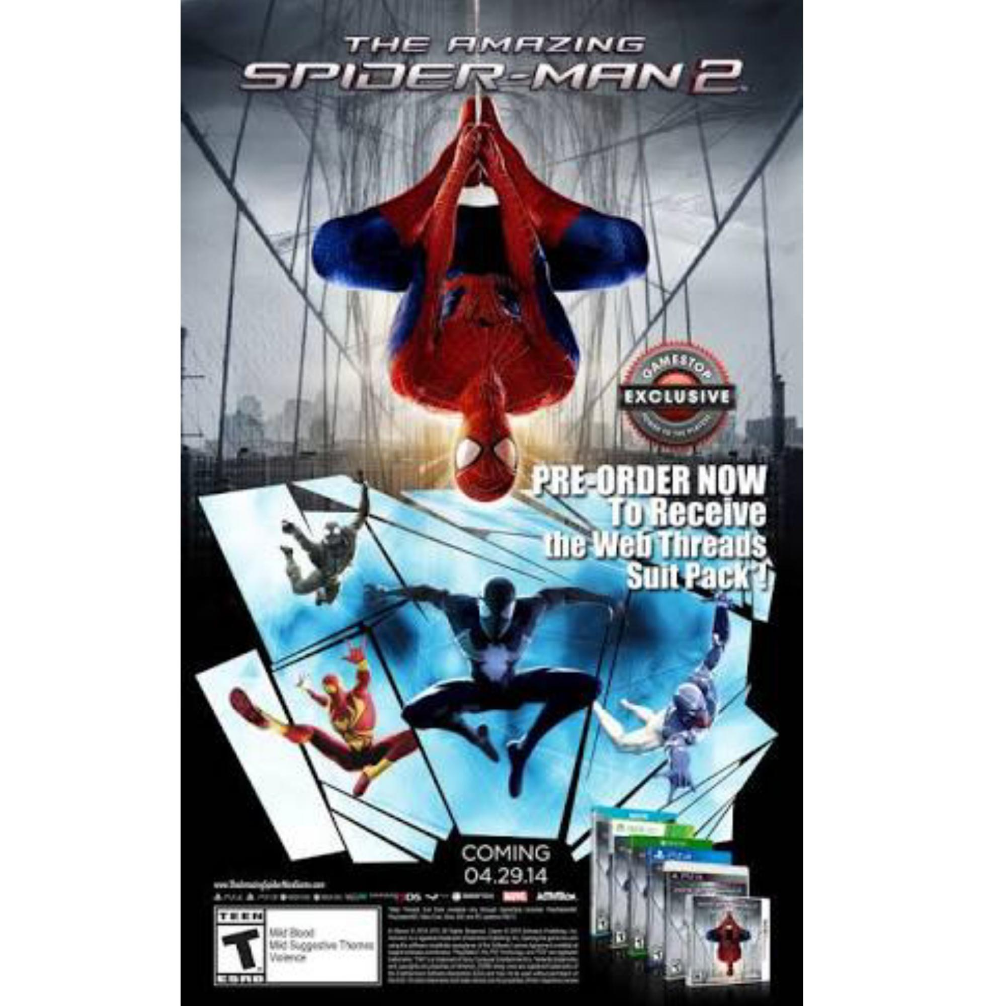 The Amazing Spider-Man 2 Full Action Computer/laptop Game DVD