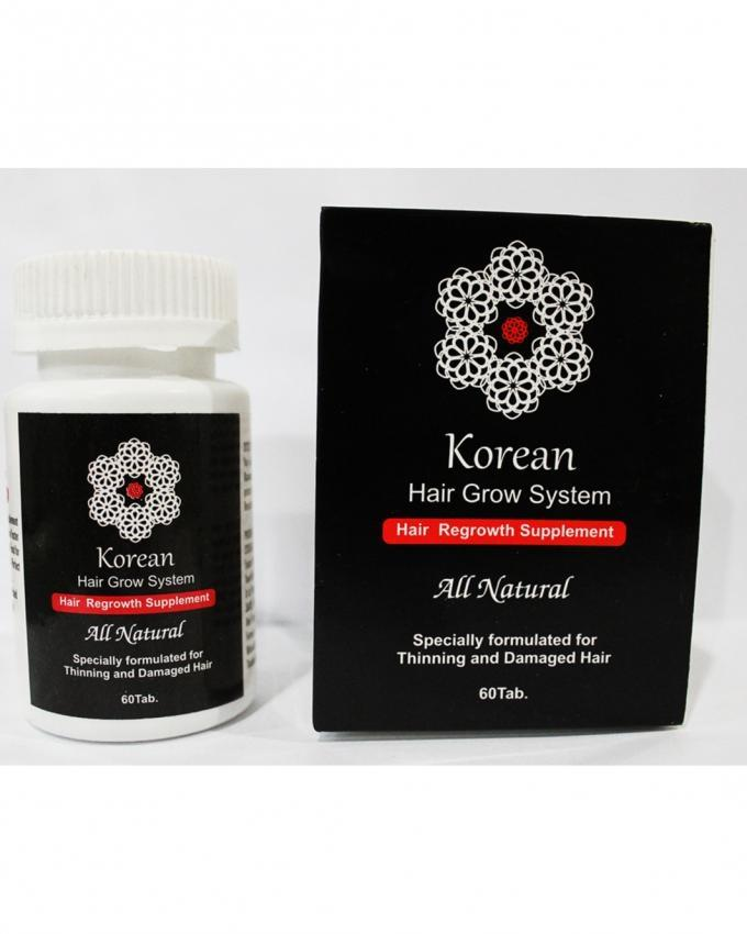 Korean Hair Grow Supplements - 60 tab