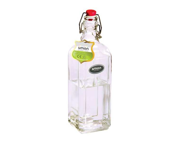 Ava Latched Premium Quality Glass Bottle With Air-Tight Leak Proof Flip Top Lids 1.15 Litres