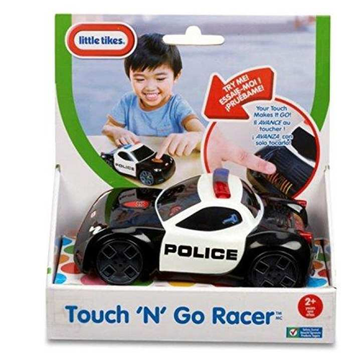 Little Tikes Touch N Go Racer Police Car BATTER OPPERATED