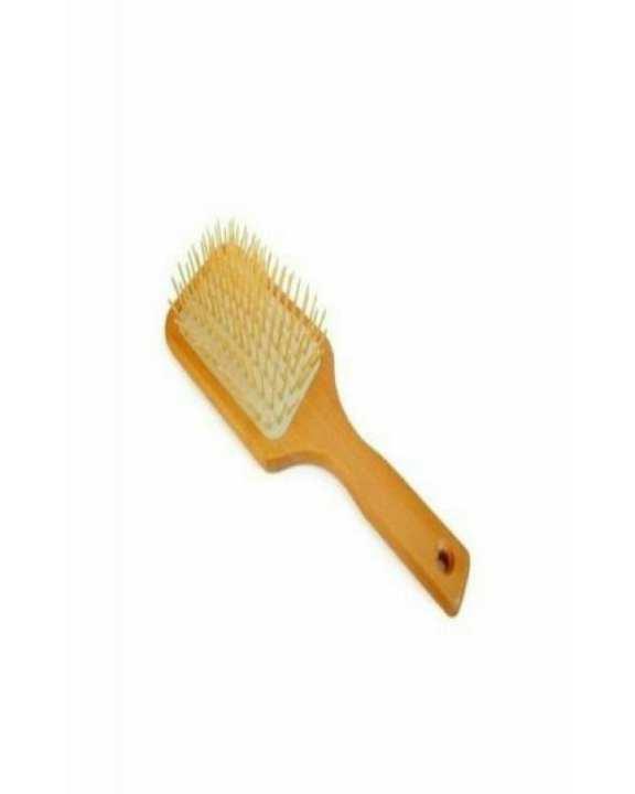 Wooden Hair Brush - Brown
