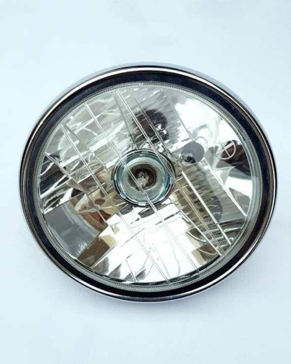 Head Light Assembly CD-100 (Round) - White
