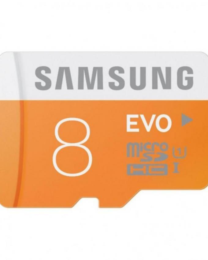 Micro SD Card - 8GB - Orange
