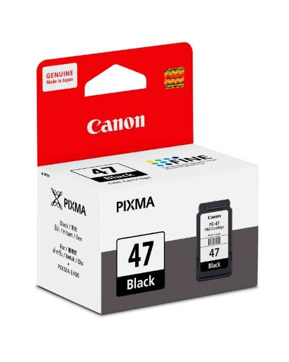 Ink cartridge for PIXMA E400 Printer - Black