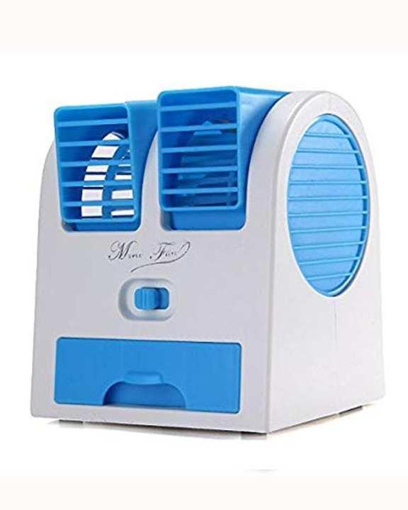 Mini Air Cooler Double Fan Perfume Turbine.....