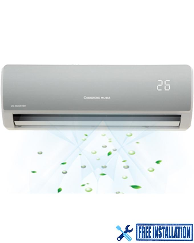 CSDH-12SA02G - Inverter Air Conditioner - 1.0 ton - Silver