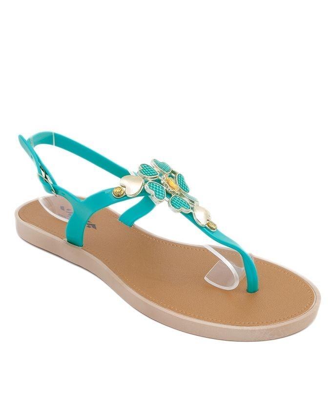 Sea Green Imported Italian Design Fancy Sandal for Women - C05