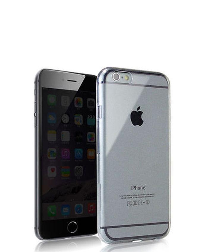 TPU Jelly Case for iPhone 6 Plus / 6S Plus - Transparent