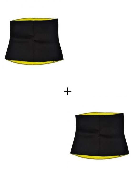 Pack of 2 - Hot Shaper Waist And Belly Belt - Unisex
