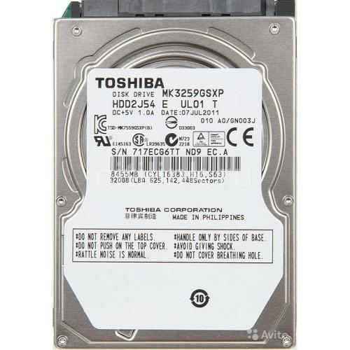 Toshiba 320 GB hard drive PS3 Hard drive or Laptop hard drive