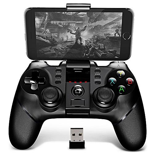 Wireless Bluetooth Gamepad Controller Android Joysticks with Extandable  Phone Holder and 2 4g Wireless Receiver Device
