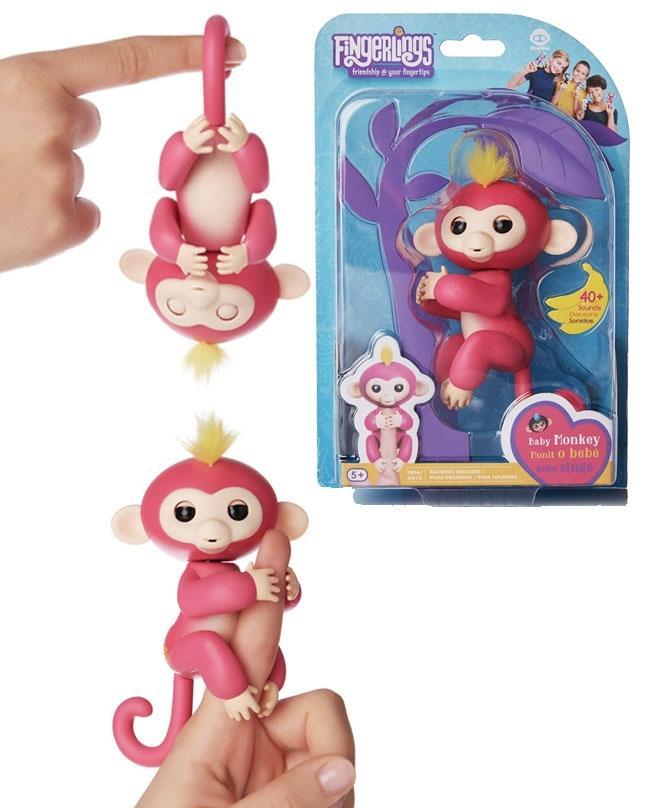 Bella Interactive Baby Monkey Fingerlings