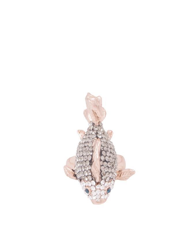 Champagne fish ring