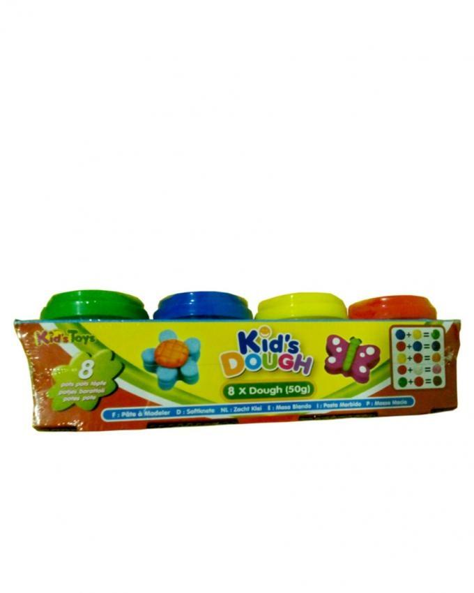 Pack of 8 - Kids Play Dough Set - Multicolor