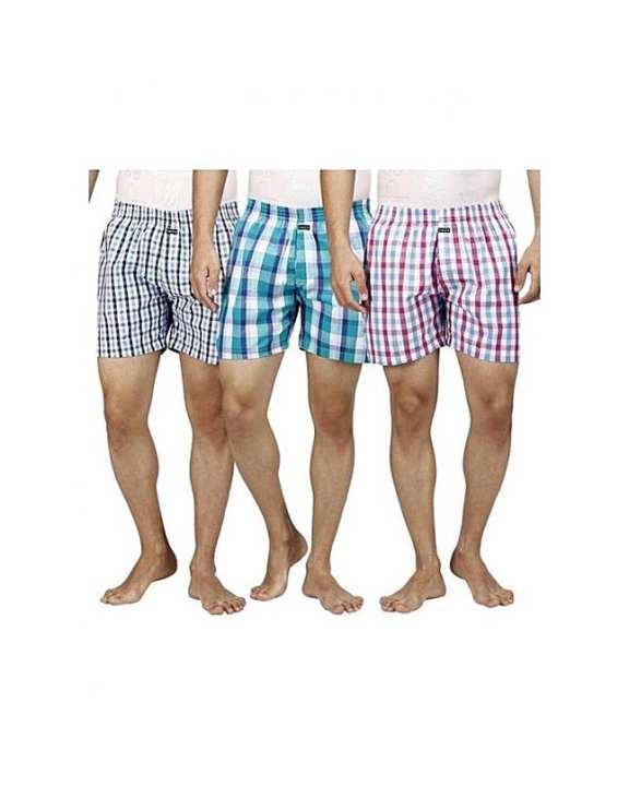 Pack Of 3 - Checkered Men's Boxer