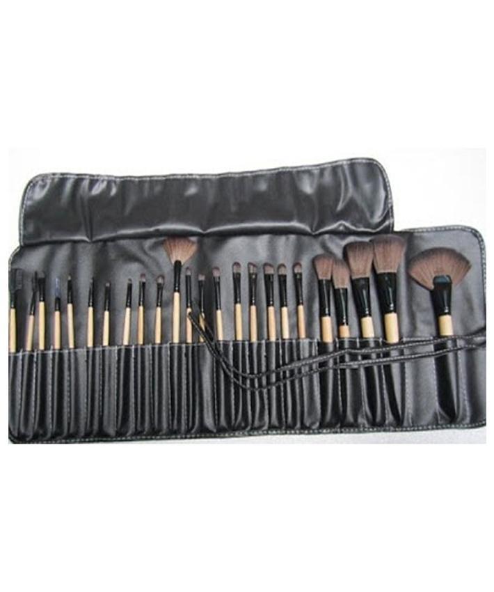 Makeup Brushes, Makeup Brush Set, 32 Pcs Handmade Natural Synthetic Bristle Wooden Handle Cosmetics
