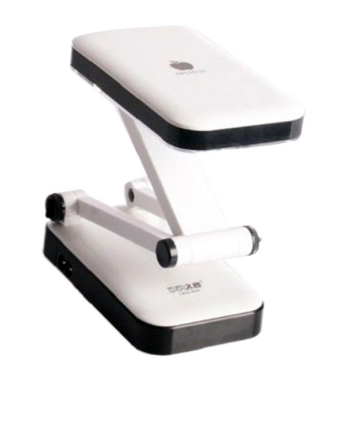 Desk Reading Lamp - 24 LED Rechargeable - Black &White