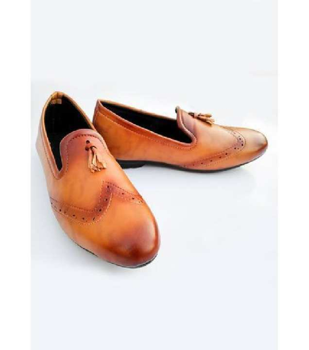 British Style  Brown Shoes For Men