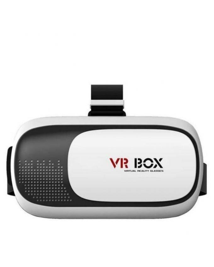 Pack of 2 - Virtual Reality 3D Glasses Box - White