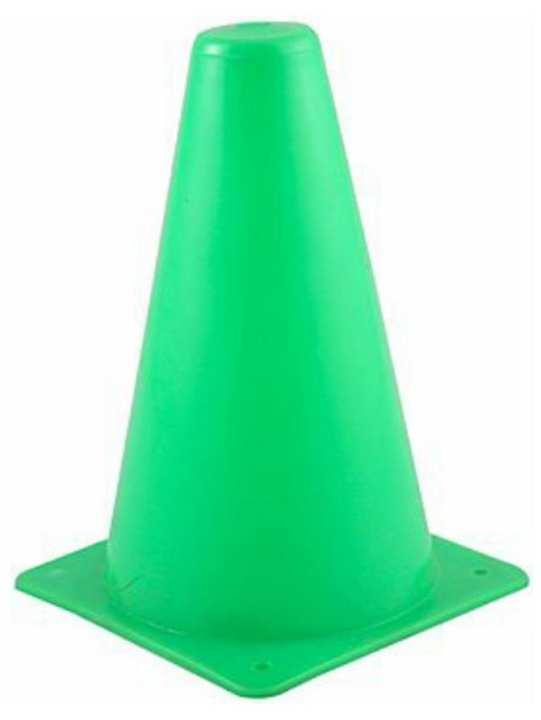 football Training Cones road safety cones hockey 6 inch GRN