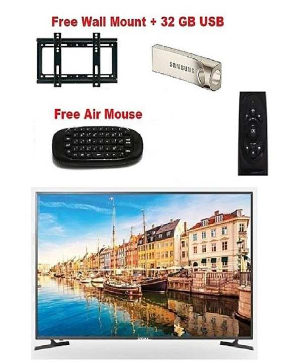 IMAX 32 LED Full HD Android Smart TV With free Wall Mount+32 GB USB+Air Mouse""