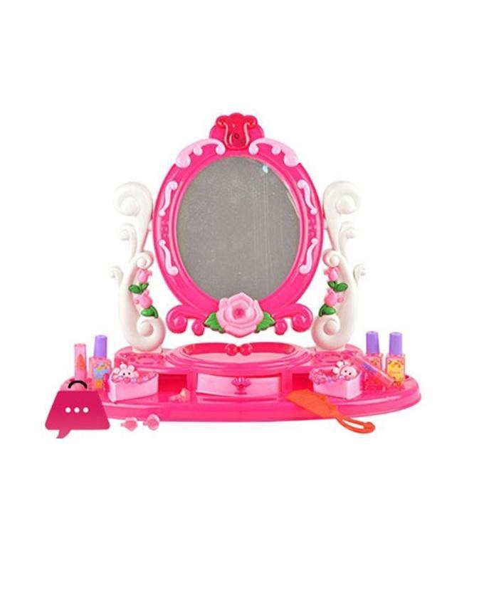 Large Dora Make Up Dressing Table - Pink
