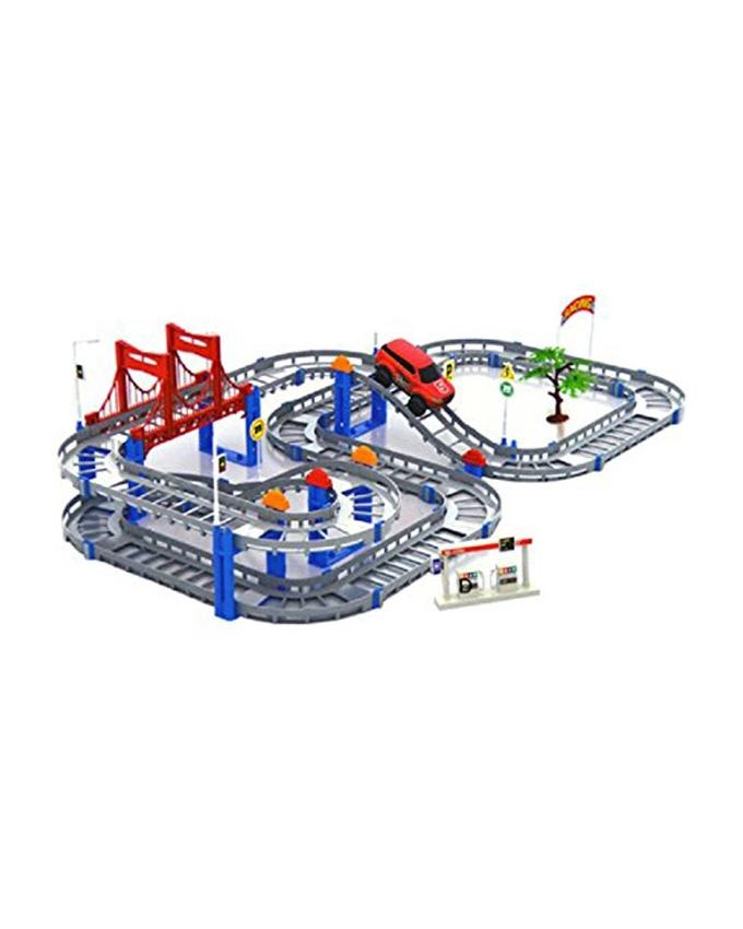 Jeep Truck Track Set - Battery Operated