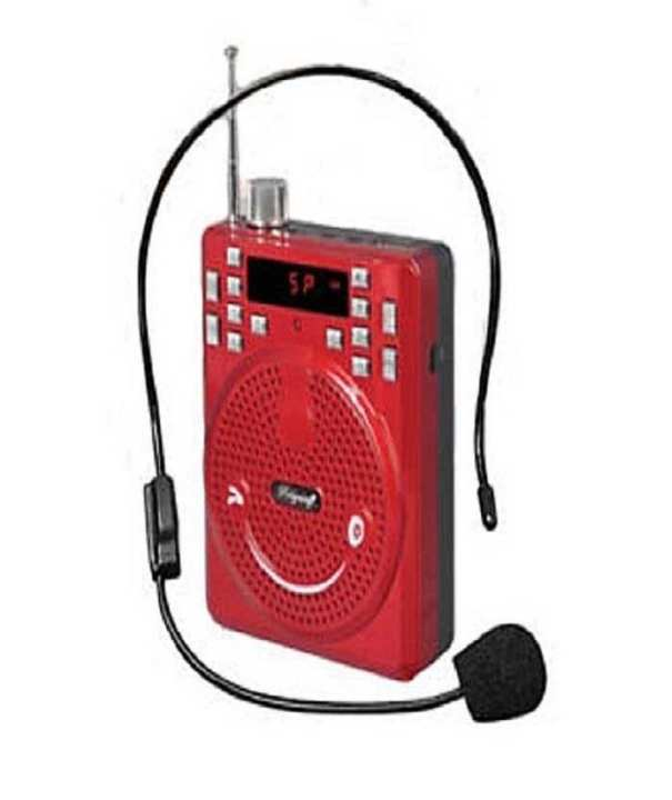 MP3 Loudspeaker – FM Radio – SPE-204 – Red