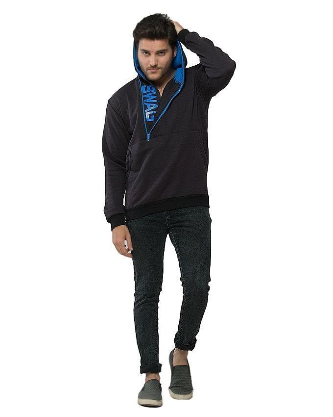 Black Fleece SWAG Hoodie for Men