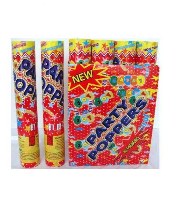 Pack of 6 - Party Popper - Large