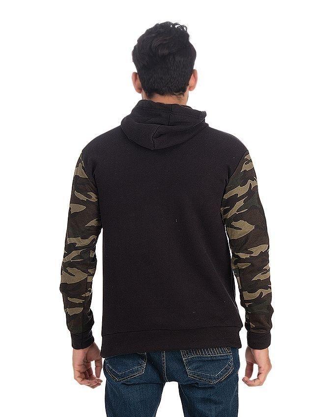 Black Fleece Commando Hoodie For Men - EP_1456