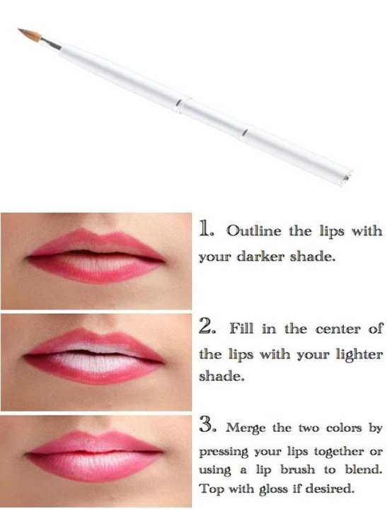 Lipstick Outline Brush