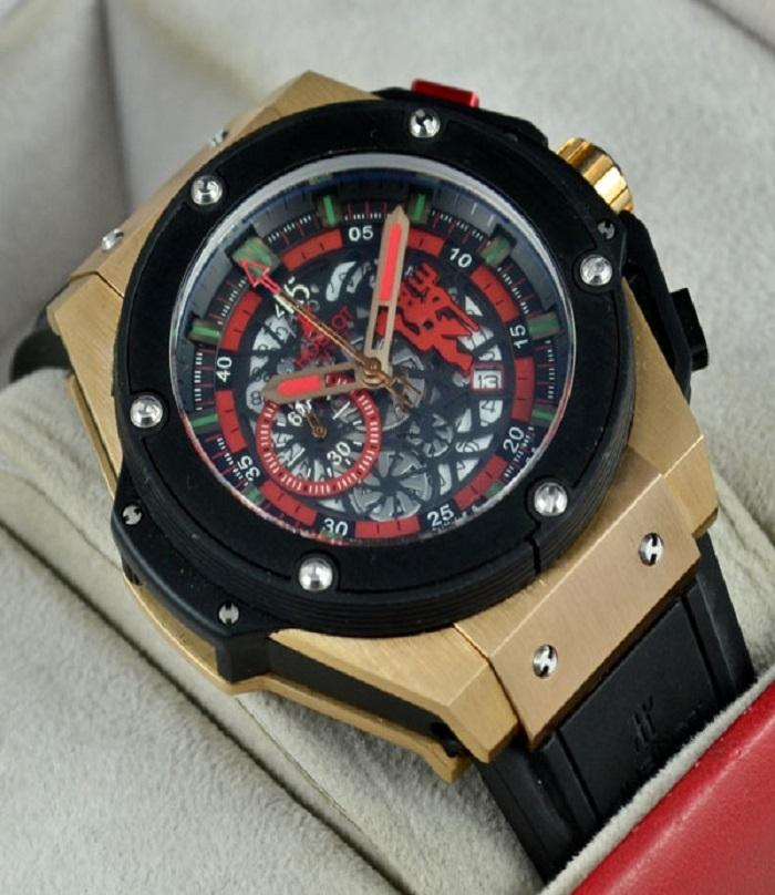 Hublot Watch Price >> Hublot Big Bang King Power Manchester United Men Watch Red Devil