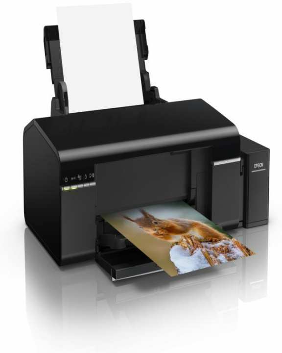 L805 6-color Wireless Inkjet Photo,CD,DVD And ID Card Printer Ink Tank System