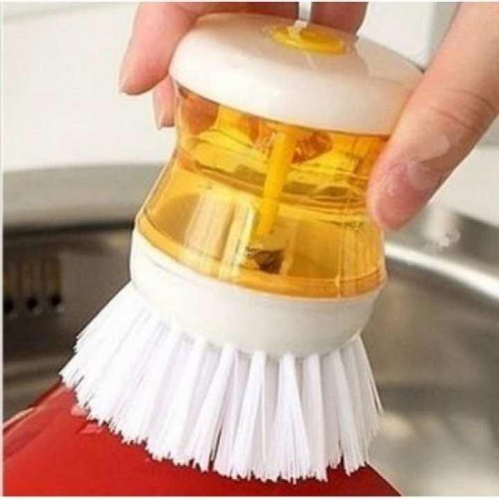 Pack of 2 Multipurpose Self Dispensing Cleaning Brush