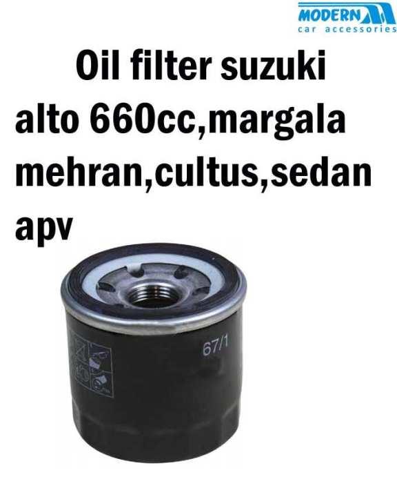 OIL FILTER, SUZUKI ALTO 660CC,MARGALLA,MEHRAN,CULTUS,SEDAN,APV