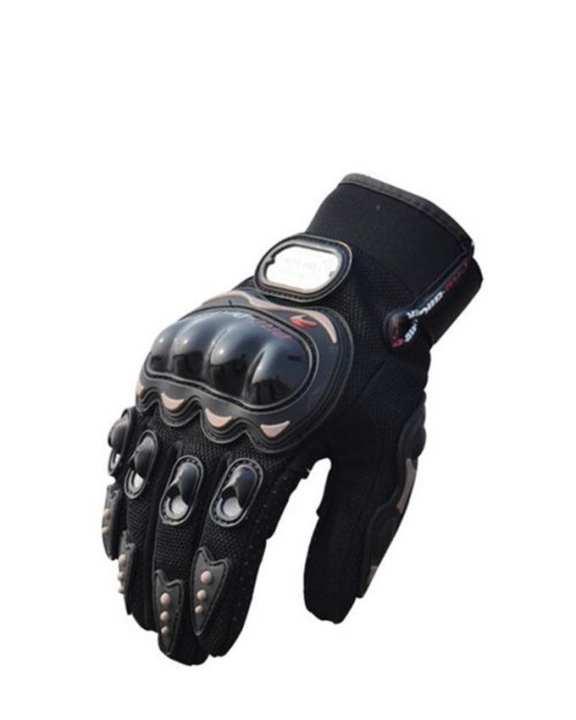 Pro Biker Gloves - Black