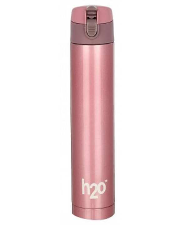 Stainless Steel Thermos Bottle - 350 ml - Pink